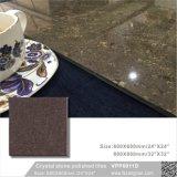 Строительный материал коричневого камня Crystal полированным полом плиткой (VPP6011D, 600X600мм, 800X800мм)