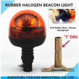 Gear Mode를 가진 유연한 폴란드 Mount Amber Halogen Rotating Beacon Warning Light