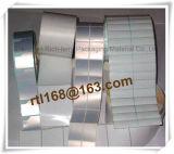 Etiqueta em branco de prata impermeável da impressão da alta qualidade