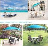 高品質の緑色48inch x 8Kの庭の傘