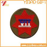 옷 (YB-SM-17)를 위한 로고를 가진 주문 원형 자수 패치