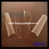Transparencia de gran diámetro del tubo de vidrio de sílice fundida
