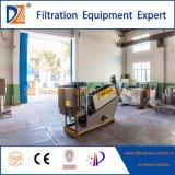 Vis en acier inoxydable automatique 304 filtre presse pour la déshydratation des boues
