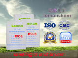 Diossido di titanio R908 del rutilo del prodotto ISO9001 Certidication di memoria