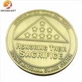 Pièce de monnaie neuve d'enjeu en métal du modèle 2015 pour la promotion