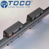 Carriles lineares de aluminio de la vía guía linear