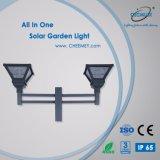 LED de aluminio de fundición lámpara solar jardín de la iluminación exterior
