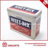 食品等級のクッキーの軽食の金属のパッケージの長方形の錫ボックス