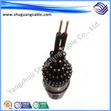 Yjv32 4 сердечники XLPE изолировали обшитый PVC тонкий силовой кабель стального провода Armored