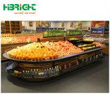 Moderne Obst- und GemüseZahnstange im Nacjbarschaftsladen