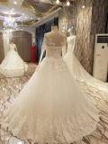 完全な袖の夜会服のウェディングドレス
