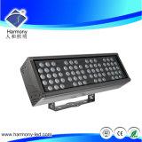 Lámpara de inundación impermeable al aire libre de Hotsale 96W IP67 RGB LED