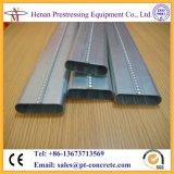Macchina ovale del condotto di tensionamento dell'alberino per 50X20mm, 70X20mm, 90X20mm, condotto piano di 100X20mm
