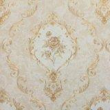 Het in het groot Klassieke Behang van de Decoratie van het Ontwerp van de Luxe Bloemen voor Muur