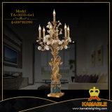 Spezielle keramische Blumen-und Messing-niedrige Schreibtisch-Lampe (TA-883-6+1)