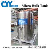 ASME Cryogene Tank 3m3, de Tank van de Opslag van de Vloeibare Zuurstof van 16 Staaf
