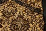 Tela de materia textil del telar jacquar de Brown con la capa (FTH31180A)