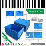 Caixa de contêiner plástico de nidificação de empilhamento
