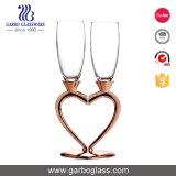 Kop GB08h1806 van het Glas van Exiquite 220ml de Loodvrije Glasheldere Champagne