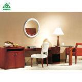 Fertiges Mahagonidoppeltes - moderne Ecktisch-Bett-Schlafzimmer-Möbel