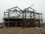 Chalets favorables al medio ambiente de la estructura de acero