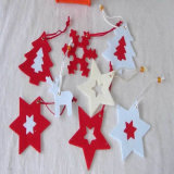 Christmas Printed Felt Products/Felt Balls Felt Ornaments