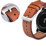 Vigilância de qualidade mais recentes da banda de couro para a Samsung, Engrenagem para S3 22mm banda em pele genuína