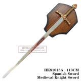 オオカミの剣の中世剣の装飾の剣105cm HK81015A
