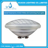 Pute White 35W LED PAR56 bajo el agua de la luz de la Piscina