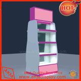 El titular del organizador cosméticos 3 niveles de rack de montaje en pared de madera