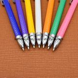 Logo stylo à bille en plastique pour cadeau promotionnel stylos (LT-E301)