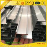 Aluminium extrudé anodisé personnalisée en usine et les portes du châssis de fenêtre