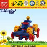 Brinquedos educacionais do carro dos blocos de apartamentos das crianças