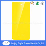 Свет - желтая декоративная высокая краска покрытия порошка лоска