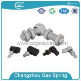 Support de contrefiche chargé par gaz avec le joint à rotule