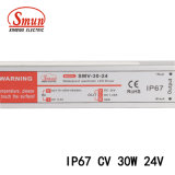Smv-30-24 24V 1.2A 30W imprägniern IP67 LED Fahrer-Stromversorgung