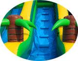 8*4*4.5mのすばらしい中間のサイズ少しプールの安い価格の商業膨脹可能な水スライド