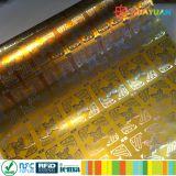IDENTIFICATION RF Llabel de fréquence ultra-haute anti-calorique de CPE GEN2 Monza R6