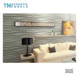 Panneau 3D insonorisant décoratif intérieur de fibre de polyester d'imperméabilisation de l'eau pour le bureau/salle de réunion