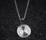 De uitstekende Juwelen van de Mannen van de Vrouwen van de Halsbanden van de Kleur van het Roestvrij staal van Heilige Benedict Medal Pendant Zilveren en Gouden Godsdienstige Katholieke