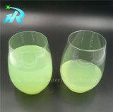 чашки вина любимчика 10oz стекло вина пластичной пластичное
