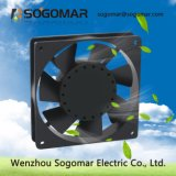 La bobina de Cooper 2420rpm 50/60 Hz 120x120x25mm Ventilador de refrigeración para Intercambiador de calor