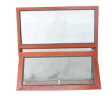 Wooden and Aluminum Export Awning Windows with Net
