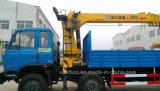 De Vrachtwagen van Dongfeng 6X2 met Kraan, de Vrachtwagen Opgezette Kraan van de Boom