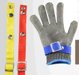 Работая перчатки нержавеющей стали руки безопасности отрезанные проводом упорные для сбывания