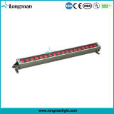 18PCS 12W Rgbaw 5in1 LED im Freien wasserdichte Beleuchtung-Wand-Wäsche