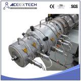 Konische Doppelrohr-Zeile des extruder-Machinery/PVC