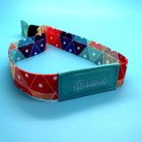 13.56MHz ISO14443A MIFARE Ultralight C indentify gesponnenen RFID Festival-Ereignis Wristband