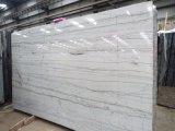 Blanc / Brésil Macaubas de haute qualité et de tuiles de dalles de quartzite blanc