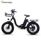 2016 عمليّة بيع حارّ 20 بوصة إطار العجلة سمين يطوي درّاجة كهربائيّة